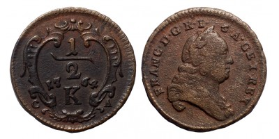 Lotharingiai Ferenc 1/4 krajcár 1764 K