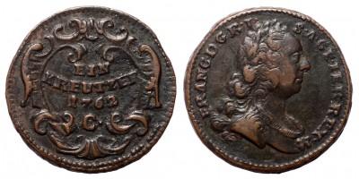 Lotharingiai Ferenc krajcár 1762 C