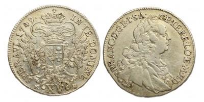 Lotharingiai Ferenc XV krajcár 1749 KB.
