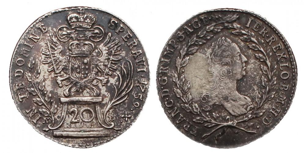 20 krajcár 1759
