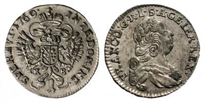 Lotharingiai Ferenc krajcár 1760 KB