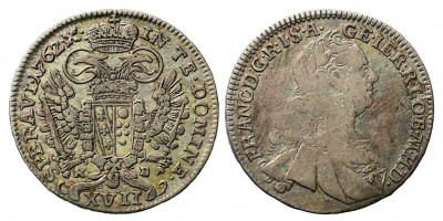 Lotharingiai Ferenc XVII krajcár 1762 KB