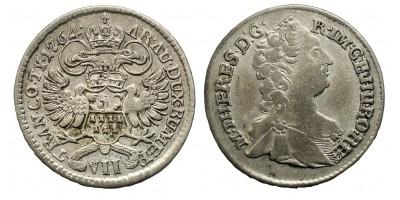 Mária Terézia VII krajcár 1764 Gyulafehérvár