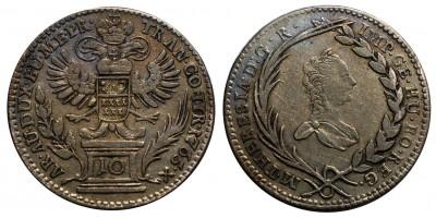 Mária Terézia 10 krajcár 1765