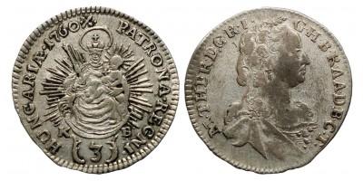 Mária Terézia 3 krajcár 1760