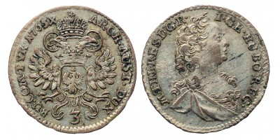 Mária Terézia 3 krajcár 1765