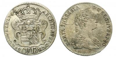 Mária Terézia VI kreuzer 1744