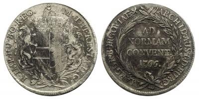 Mária Terézia Konvenciós Tallér 1766