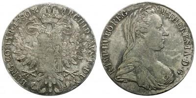 Mária Terézia tallér 1780