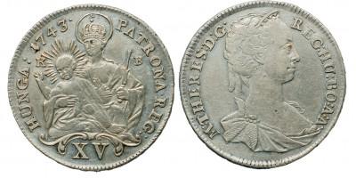 Mária Terézia 15 krajcár 1743 KB