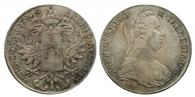 Mária Terézia tallér 1780 S.F