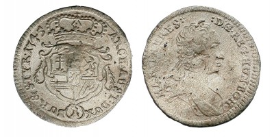 Mária Terézia 1 krajcár 1745 Graz