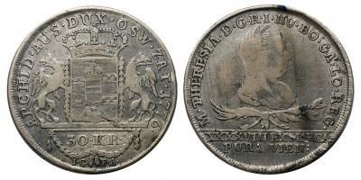 Mária Terézia 30 krajcár 1776 I.C.F.A