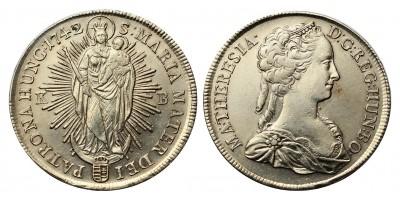 Mária Terézia tallér 1742 KB.