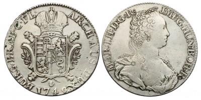 Mária Terézia ducaton 1749 Antwerpen