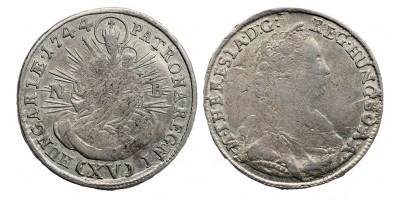 Mária Terézia XV krajcár 1744 NB. R!