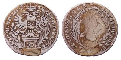 Mária Terézia 10 krajcár 1765 Gyulafehérvár