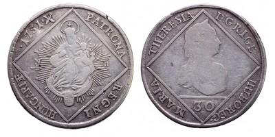 Mária Terézia 30 krajcár 1751 NB.
