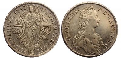 Mária Terézia tallér 1745 KB