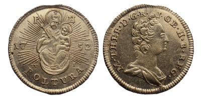 Mária Terézia poltura 1752 PH W-I