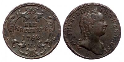 Mária Terézia krajcár 1762 K