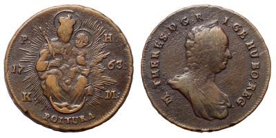 Mária Terézia rézpoltura 1763