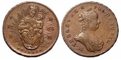 Mária Terézia rézpoltura 1765