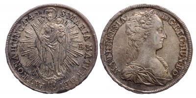 Mária Terézia tallér 1742 KB