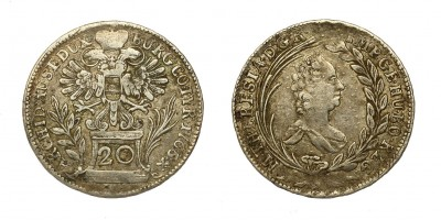 Mária Terézia 20 krajcár 1765