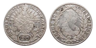 20 krajcár 1774