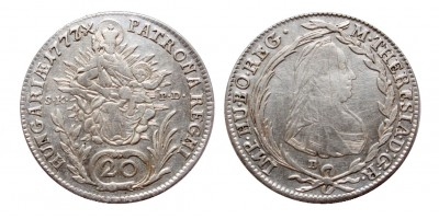 20 krajcár 1777