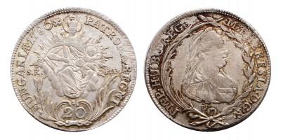 20 krajcár 1780