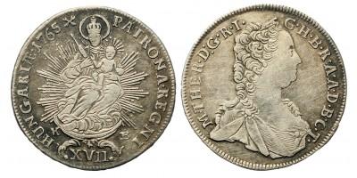 Mária Terézia XVII krajcár 1765 KB