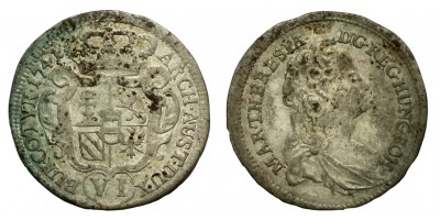 Maria Theresia 6 kreuzer 1741