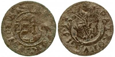 II. Ferdinánd denár 1623 P-P Pozsony R!