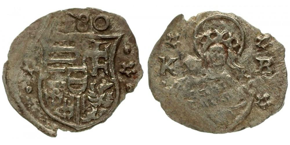 Rudolf obulus 1580 K-B ÉH 816 ritka évszám (!)