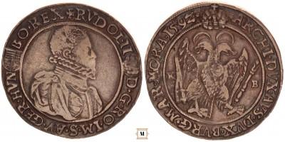 Rudolf tallér 1592 KB