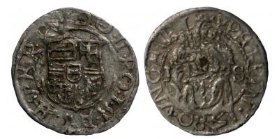Rudolf denár 1580 H-S