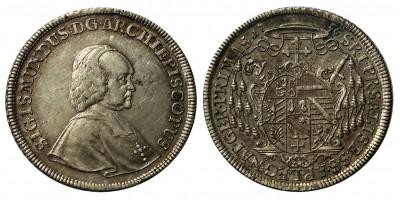 Salzburg Erzbistum Sigismund von Schrattenbach 1753 - 1771 Taler 1756
