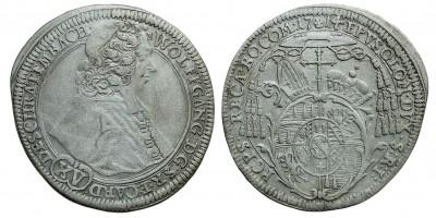 Olmütz Wolfgang v.-Schrattenbach-1711-1738 XV krajcár 1714