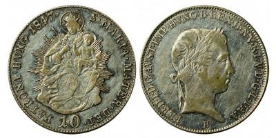 V.Ferdinánd 10 krajcár 1847 B