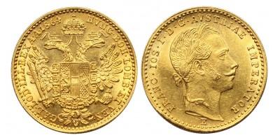 Ferenc József dukát 1864 E