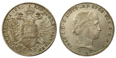 V.Ferdinánd tallér 1845 A