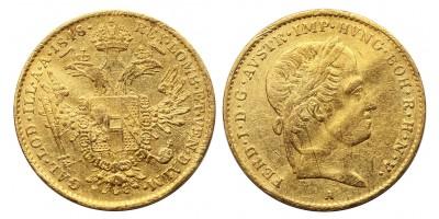 V.Ferdinánd dukát 1848 A