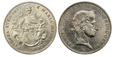 V.Ferdinánd 1/2 tallér 1837 B R!