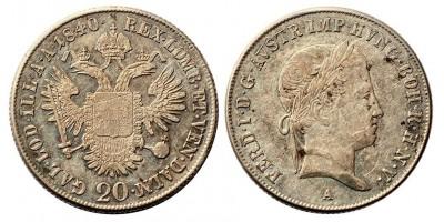 V.Ferdinánd 20 krajcár 1840 A