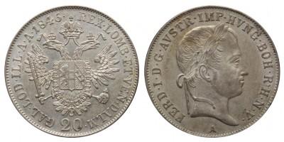 V.Ferdinánd 20 krajcár 1846 A