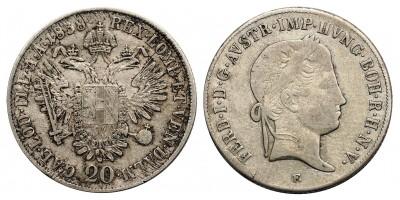 V.Ferdinánd 20 krajcár 1838 E