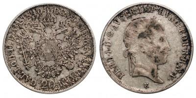 V.Ferdinánd 20 krajcár 1840 E