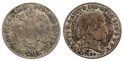 V.Ferdinánd 20 krajcár 1841 E